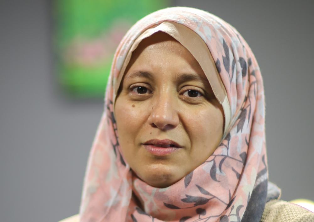 Lila Charef est engagée contre l'islamophobie.